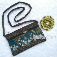 ECER Tas / Dompet Motif Batik Tali Slempang Size Besar