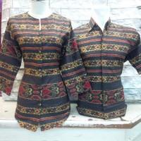 harga Mini Dress/blouse Panjang Atasan Kemeja Wanita Batik Katun Tunik Tokopedia.com