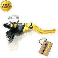 MASTER REM ATAS SCT FULL CNC BLACK, GOLD Motor, Brake Oil Master