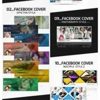 Template PSD Facebook Timeline Cover