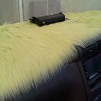 harga Alas Bulu Dashboard Kuning Kenari Import Korea Premium Tokopedia.com
