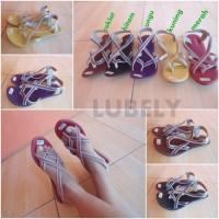 Sandal Tali Bone / sandal karet / sandal wanita / ELSN1