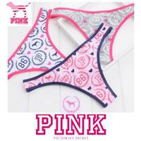 Pink VS Victoria's Secret Gstring Thong Celana Dalam Wanita Bikini Bra
