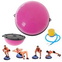 Bosu Balance Ball Pink Diameter 80cm