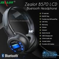 Zealot B570 Bluetooth Wireless Headphone + FM + Memory + LED Display