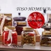 harga Toples Kaca Serbaguna Fruta Homemade Jar 500ml Toples Unik Tokopedia.com