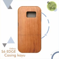 CASING KAYU WOOD CASE COVER Samsung S5 S6 S7 EDGE NOTE 3 4 5