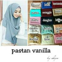 Hijab pashmina instan vanilla