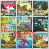 Buku Anak Buku Cerita Bergambar Seri Dongeng Bilingual Full Colour