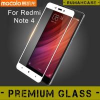 Jual Xiaomi Redmi Note 4 - FULL COVER MOCOLO Premium Tempered Glass Japan Murah