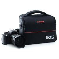 EOS Tas Selempang Kamera DSLR for Canon Nikon - Black