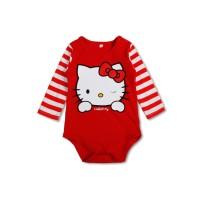 Hello Kitty Jumper bayi anak jumpsuit lucu atasan lengan panjang mz108