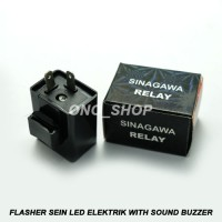 Flasher Sein Led Elektrik With Sound Buzzer & Potentio