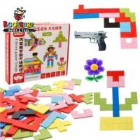 Mainan Edukasi Tetris Board Game