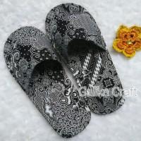 Jual sandal batik , rumah , handmade , souvenir, hotel Murah