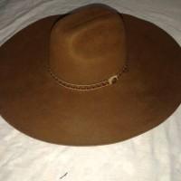 topi cowboy/laken kuwalitas bagus lebar 15cm