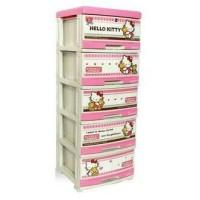 harga Lemari / Laci Plastik Napolly Hello Kitty 5 susun (SFC2-5000) Tokopedia.com