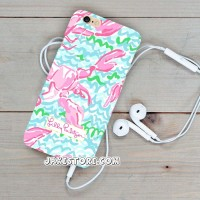 Lilly Pulitzer Lobstah LG G4 STYLUS G3 G3 STYLUS G2 Case Casing HP