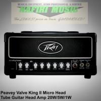 Head Amplifier Gitar Peavey ValveKing II / Valve King Micro Head Tube