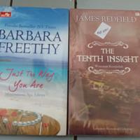 Novel Barbara Freethy Mencintaimu apa adanya dan James Redfield