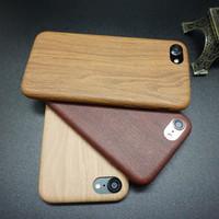 Jual Ultrathin Wood Case for iPhone 7 & iPhone 7 Plus Murah