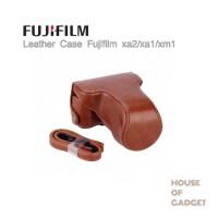 Jual Leather Case Bag Fujifilm X-A2 X-A1 X-M1 Coklat Murah