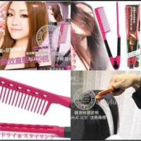 Jual SISIR ION V PELURUS RAMBUT ( ionic hair straightener comb ) Diskon Murah
