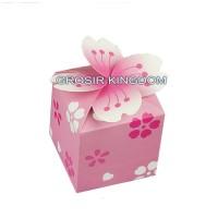 Jual BUNGA PINK  kotak hadiah ulang tahun, GROSIR bingkisan pernikahan Murah
