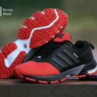 sepatu  olahraga pria running jogging gaya terbaru Adidas Springblade
