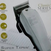Wahl Clipper Super Taper Chrome / Alat Pangkas Rambut Professional