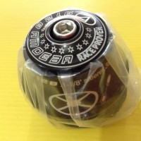 Headset Sepeda A moeba Black 1-1/8 MODEL INTEGRATEDSUDAH SEALED BERING