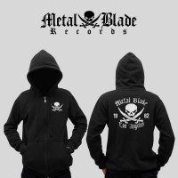 harga Jaket / Hoodie / Sweater Metal Blade Record - Hitam Tokopedia.com