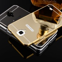 Mirror Samsung Galaxy Note 3 Neo Hard Case Casing Alumunium Bumper HP