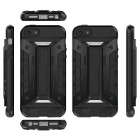 iPhone 5 5s SE ARMOR Case Soft Hard HP Casing Cover Wallet Card Stand