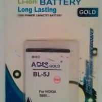 Battery BL-5J For Nokia C3/5800 Ha
