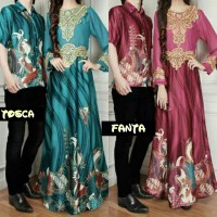 harga baju wanita muslim couple batik semi sutara.couple pasangan pesta. Tokopedia.com