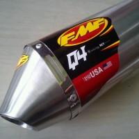 harga Knalpot FMF Q4, Silencer Only, KLX150 D'Tracker, Stianless Steel Tokopedia.com