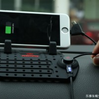 Jual Smart Car Pad - Car Holder Micro USB & Lightning Charger Magnetic Murah