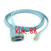 KABEL SERIAL DB9 FEMALE (RS232) TO RJ45 for (cisco)HIGH QUALITY