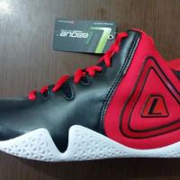 harga Sepatu Basket : League Fundamental Hitam / Merah Tokopedia.com