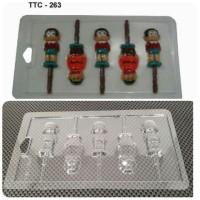 Cetakan Coklat Mika TTC-263 Nobita&Giant (Doraemon&Friend)