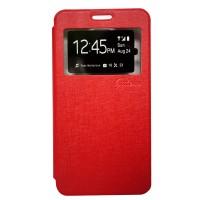 Galeno Flip Cover Vivo Y15 - Merah