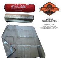 matras alumunium foil, thermal bivvy u camping, outdoor