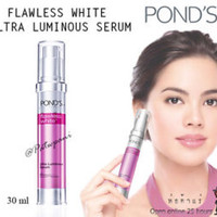 SERUM POND'S FLAWLESS WHITE ULTRA LUMINOUS PONDS WAJAH ASLI MURAH MUKA