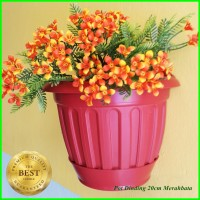 Pot Dinding 20cm Pot Tanaman Hias Bunga 20 cm Grosir Wall flower Pot
