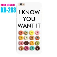 Custom Case KD-203 Casing Softcase - iPhone Samsung Xiaomi Xperia Oppo