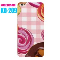 Custom Case KD-209 Casing Softcase - iPhone Samsung Xiaomi Xperia Oppo