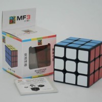 Rubik 3x3 Moyu Mf3 Guanlong Plus 3x3 Speed Cube Black Base