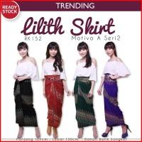 Lilith Skirt Rok Lilit Batik Songket Rok  Wanita RK152