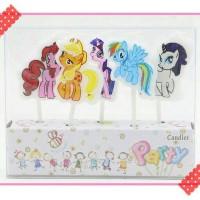 harga lilin ulang tahun karakter my litte pony Tokopedia.com